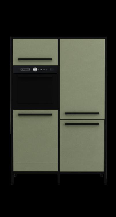 keep-Modul-der-Hochschrank-Visualisierung-in-olivegrün-mit-zwei-Modulen