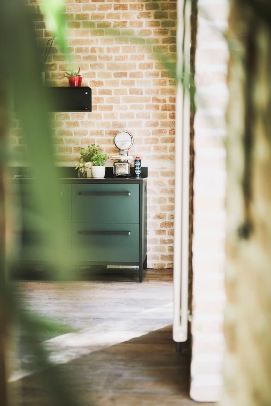 Abschluss-Küchenmodul-keep-Küche-Linoleum